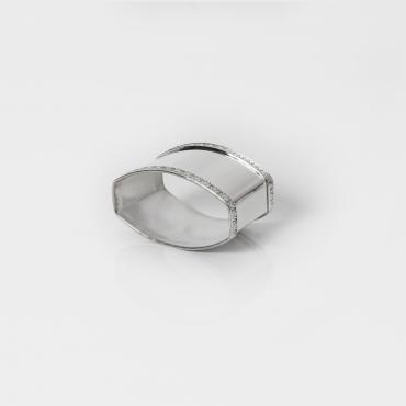 Silver napkin holder