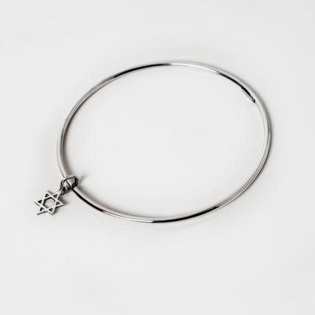 Rigid Bracelet David Star