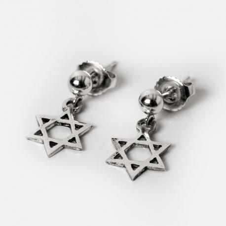 orecchini Stella di David
