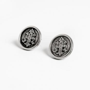 Orecchini giglio argento 925