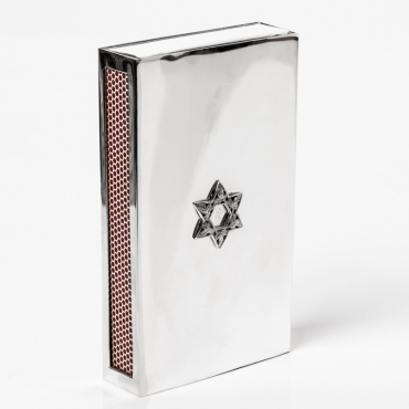 Matchbox in silver