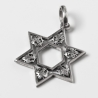 silver Star of David with lily of Florence