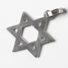 silver simple star of David Pendant