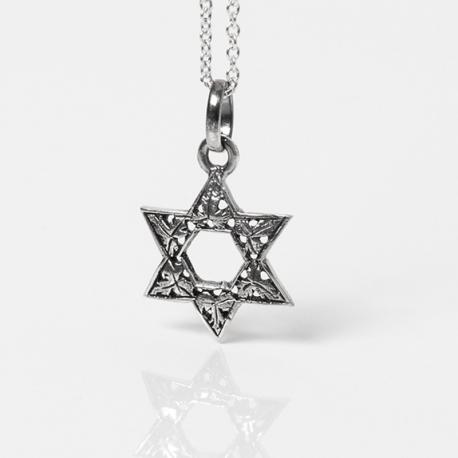 stella di david in argento
