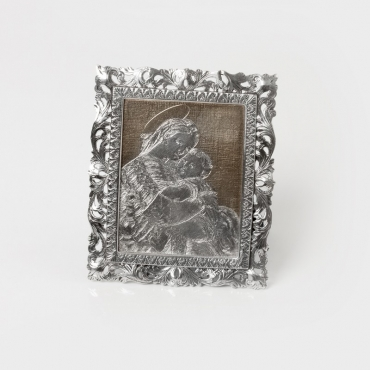 Madonna in sterling silver