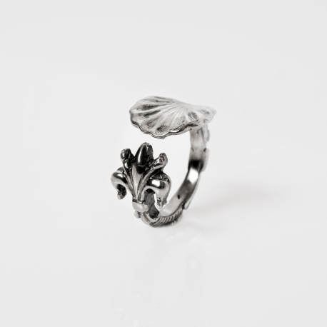 Silver Woman ring