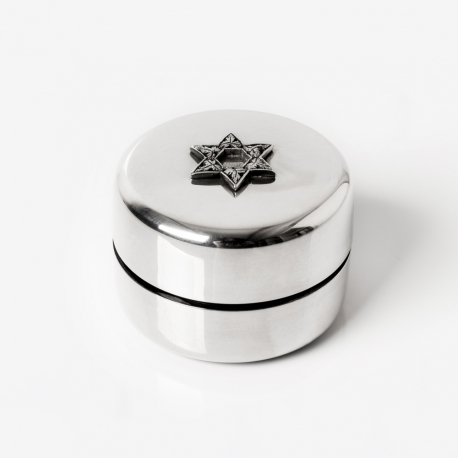 scatola argento Judaica
